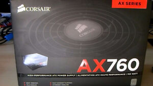 Corsair AX760 Fully Modular Power Supply