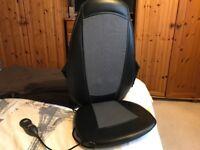 Homedics shiatsu back massage chair