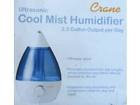 Pure mist humidifier