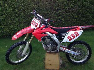 Honda Crf250r 2005 Motocross