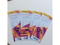 Sunday 6th August morning tickets for athletics.