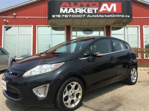 2011 Ford Fiesta SES, LEATHER, SUNROOF, ALLOYS
