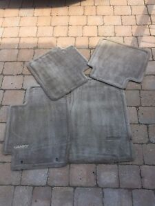 Toyota Camry floor matts . 2 front 2 back Grey