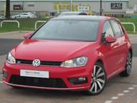 Volkswagen Golf R LINE EDITION TDI BMT DSG (red) 2016-08-02