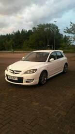 Mazda 3 mps Aero pearl white must see