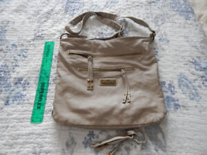 River Island - large leather crossbody bag - $10