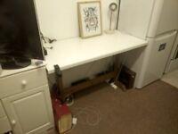 White desk/work table