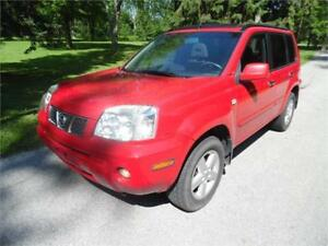 2005 Nissan X-Trail, Loaded. Ice Cold Air, 4WD, Gas Miser $2850