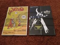 THE WHO. TWO GREAT CONCERT POSTERS. BOTH POSTERS IN EXCELLENT CONDITION