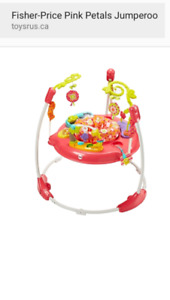 Baby girl jumperoo