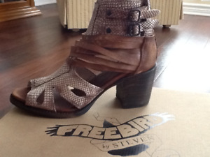 New Freebird by Steven vintage style leather shoes