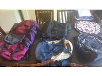 Back packs and rucksacks