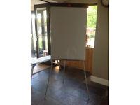 NOBO White Board/Flip Chart Easal. 105cm x 68cm.
