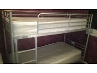 ! ! ! ! ! ! ! ! ! ! ! ! ! ! BUNK BEDS ! ! ! ! ! ! ! ! ! ! ! ! ! ! WITH 2 DRAWERS UNDERNEATH BED !!!