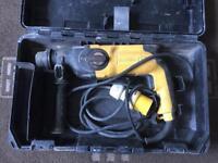 DEWALT ELECTRIC 110v SDS HAMMER DRILL