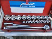 Silver line socket set