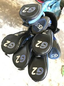 Left handed ping G2 woods and hybrids