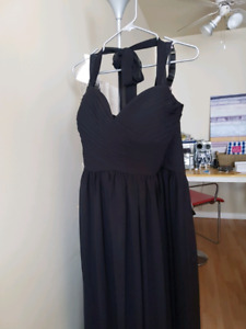 Formal dress long black