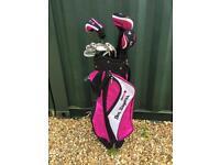 Golf Clubs - Ben Sayers - full set, plus bag NEW