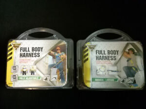 BRAND NEW PACKAGED SAFETY HARNESSES
