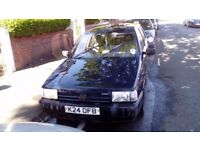 Fiat Tipo as per TV series Inspector Maltabano, runs but no MOT, needs work doing on it