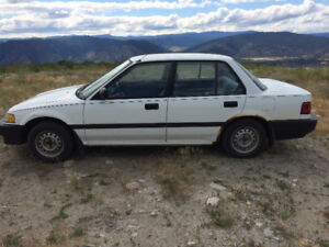1989 Honda Civic Sedan