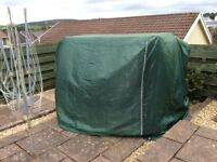 Garden swing chair cover