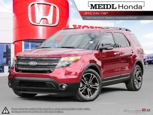 2013 Ford Explorer Sport EcoBoost AWD DVD PST Paid