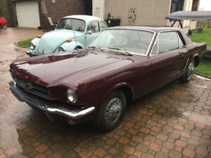 1965 Mustang coupe barn find
