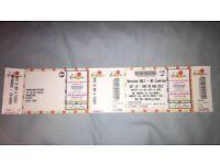 X1 V FESTIVAL WEEKEND NON CAMPING TICKET