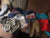 Boys clothes bundle 6-9