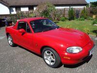 Mazda MX5 Isola, Limited edition - 2001 - Genuine Very Low Mileage
