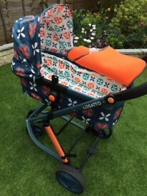 Cossato giggle travel system