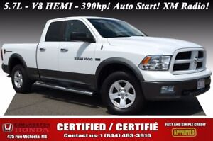 2011 Ram 1500 Outdoorsman 4WD! 5.7L - V8 HEMI - 390hp! Auto Star