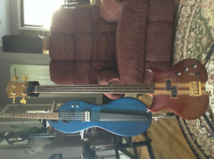 Lined Fretless Lado Bass