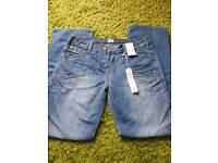 Ladies size 12 long. Boyfriend style jeans (new)