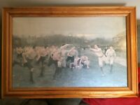 William Barnes Wollen framed painting