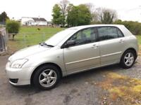 TOYOTA COROLLA D-4D 2004 ***MOT OCTOBER 2017***