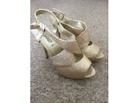 Shoes, heels, size 5&6, new & worn, different styles