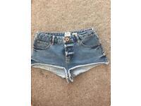 River island Jean shorts