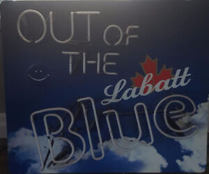 """Out of the Blue"" neon sign"