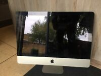 iMac 21.5 All-In-One Intel Quad Core i5 2.5GHz 2011 8GB RAM Dedicated Graphics Apple Wired Keyboard!