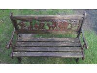 Childs bench