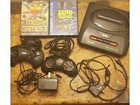 Sega Megadrive 16 bit 2 games