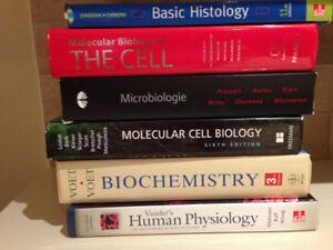 Livres biologie /Biology books
