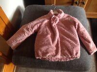 Girls Mayoral dress jacket age 6