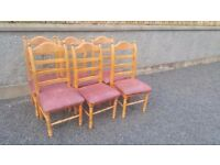 6 kitchen dining chairs for sale
