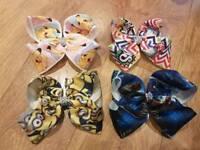 Bundle of 4 jojo size bows