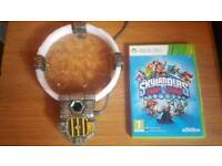 Skylanders Trap Tream Starter Pack (XBox 360) and 17 figures and 2 traps.