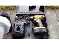 2 x dewalt drills £30